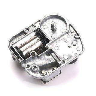 Faironly meccanismo Musicale DIY Play Set Meccanico Metallo Music Box Clockwork Music Box Accessori Home Decor I Love You More And More Everyday