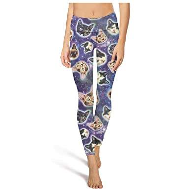 Amazon.com: Pantalones de yoga para mujer con diseño de ...