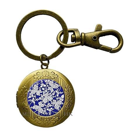 Llavero de cristal con símbolo de Om Budista Zen para ...