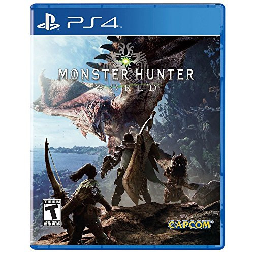 Monster Hunter: World - PlayStation 4 Standard Edition (World Best Fighting Games)