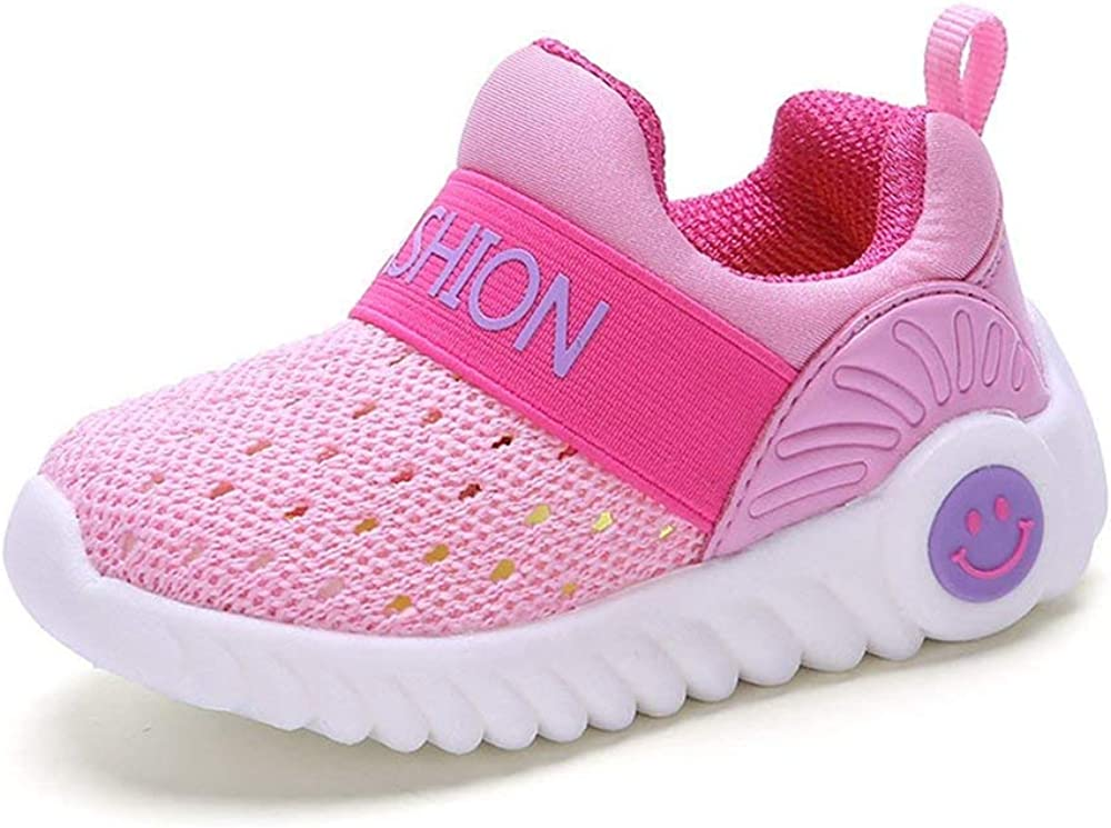 Super explosion Kids Lightweight Breathable Sneakers Easy Walk Casual Sport Shoes for Boys Girls