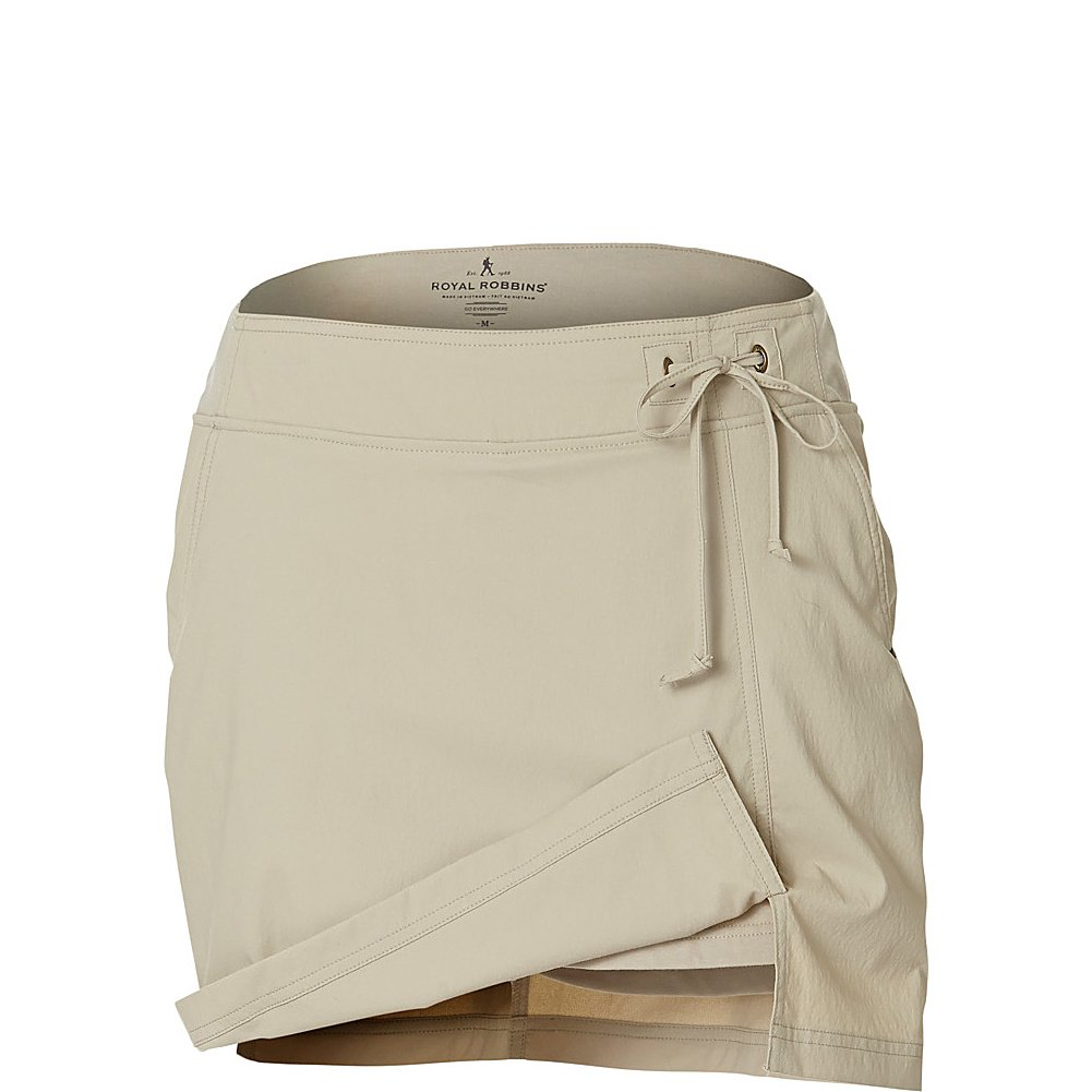 Royal Robbins Women's Jammer Skort Light Khaki Skirt