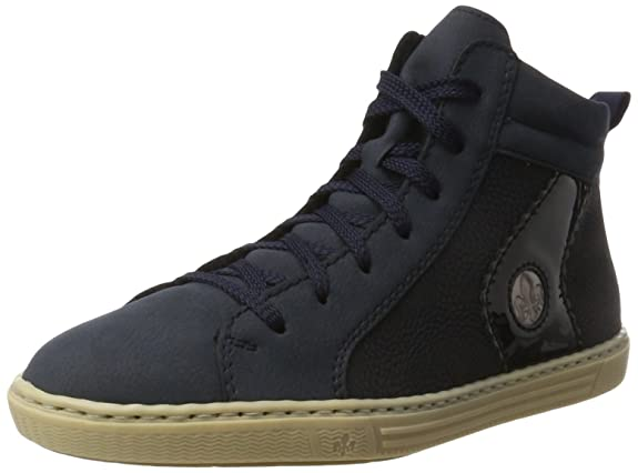 474494fb1a47 Amazon.com  Rieker Women s L0948 Hi-Top Trainers