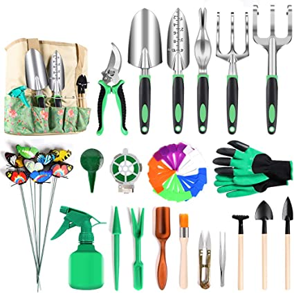 Amuzocity Gardening Tools Large Capacity Long Spout 2L Green Multi