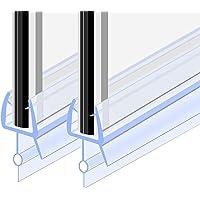 Goldge Junta para mampara de ducha   Junta de goma de repuesto Fabricado en PVC Duro y PVC Suave Ajustable Usar a el…