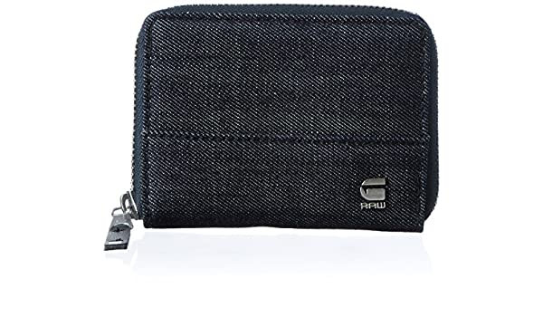 G-STAR Cart Zipper Wallet, Carteras Hombre, Blau (Raw), 11.5x8.5x2 cm (W x H D): Amazon.es: Zapatos y complementos