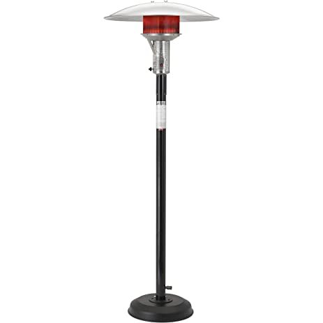 Sunglo Black Natural Gas Patio Heaters
