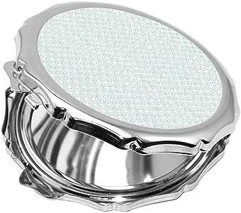 مرآة جيب، بتصميم رسوم زخرفية ، شكل دائري
