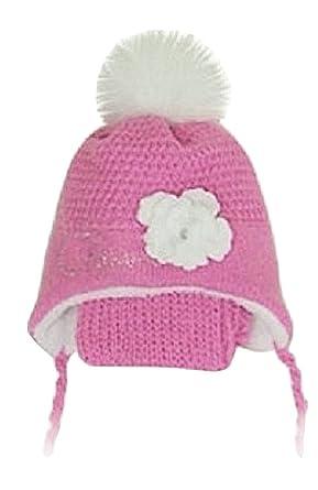 838595d8b68407 Winter Mütze Babymütze Mädchenmütze Kindermütze Beanie Warme Norwegermütze  (Rosa/weiss.