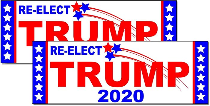 Trump 2020 ....Making America Great Again ..Vinyl Stickers Decals ..12 Pack
