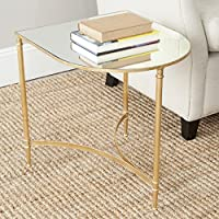 Safavieh Home Collection Nevin Gold Accent Table