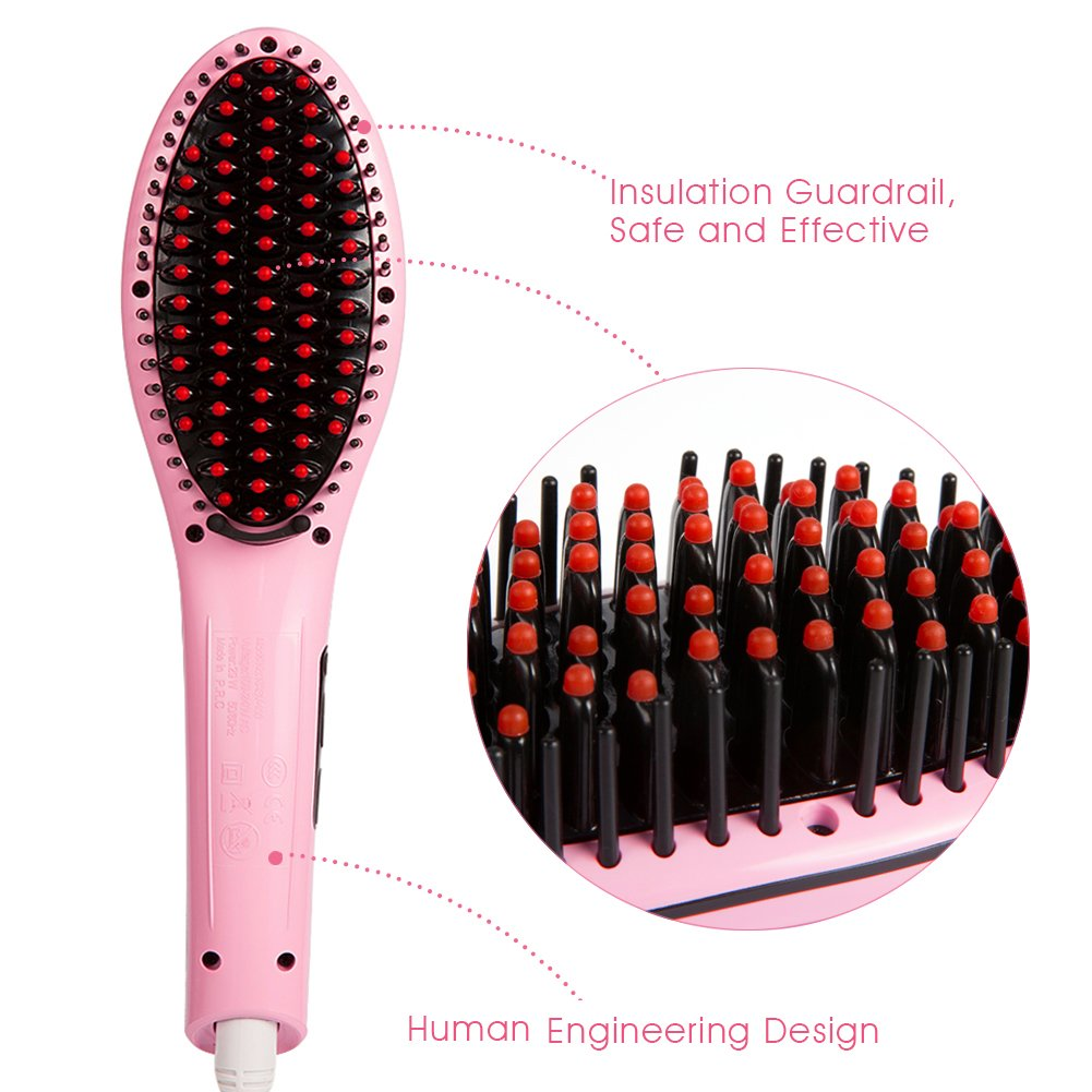 Magicfly Hair Straightening Brush