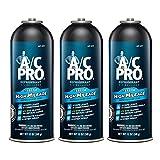 Interdynamics A/C Pro High Mileage Auto Air Conditioner Refrigerant, 134A, 12oz - 3 cans