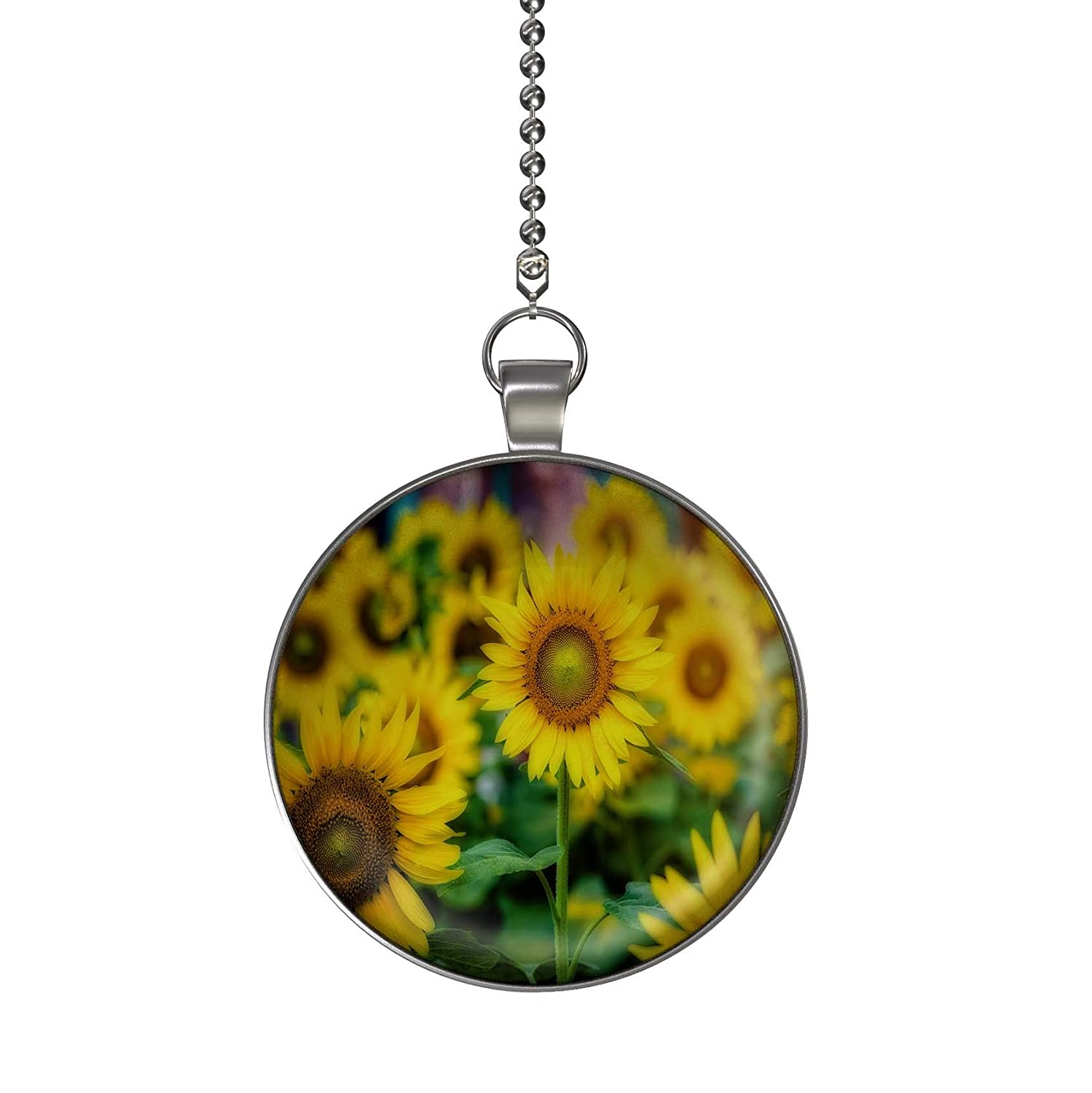 Gotham Decor The Sunflower Patch Fan//Light Pull Pendant with Chain