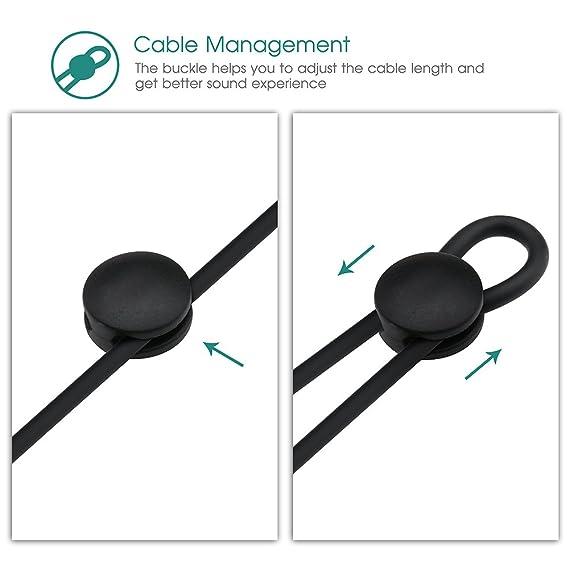 VTin MOUL Auriculares deportivos inalámbricos Bluetooth 4.1, resistentes al sudor, ideal para correr, gimnasio, ejercicios, con APT-X, CVC 6.0, ...