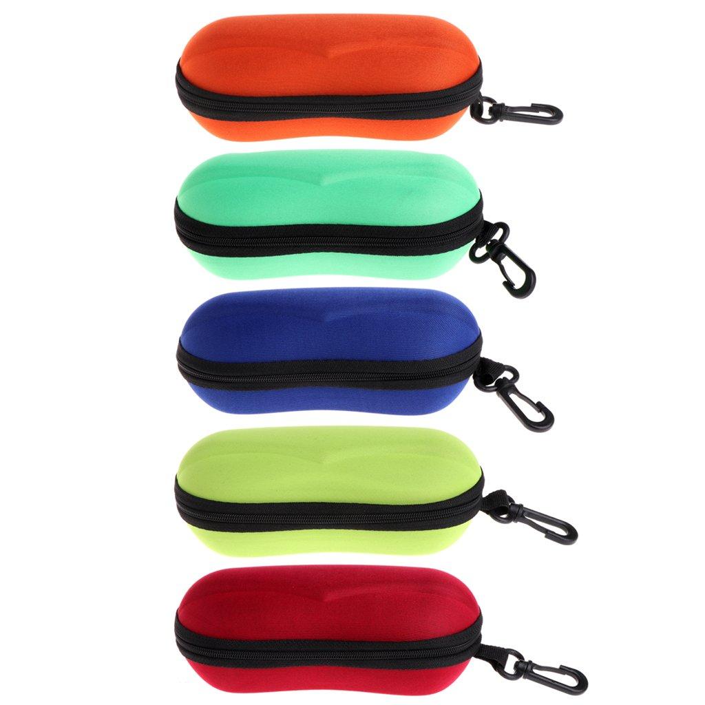 EXING Portable Zipper lunettes de soleil lunettes de vue Carry Bag Zipper Box Case Protector Pouch