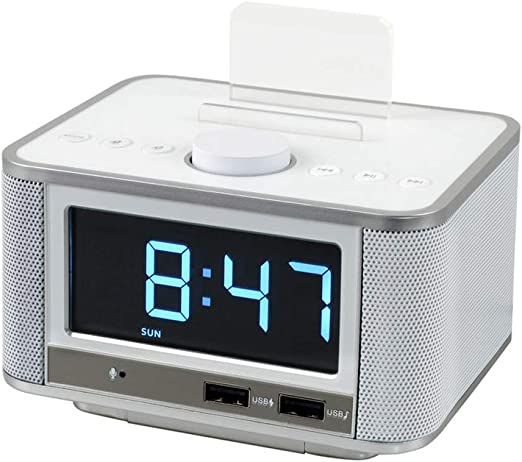 TYX HOME Reloj Despertador Digital con Radio FM Pantalla LED ...