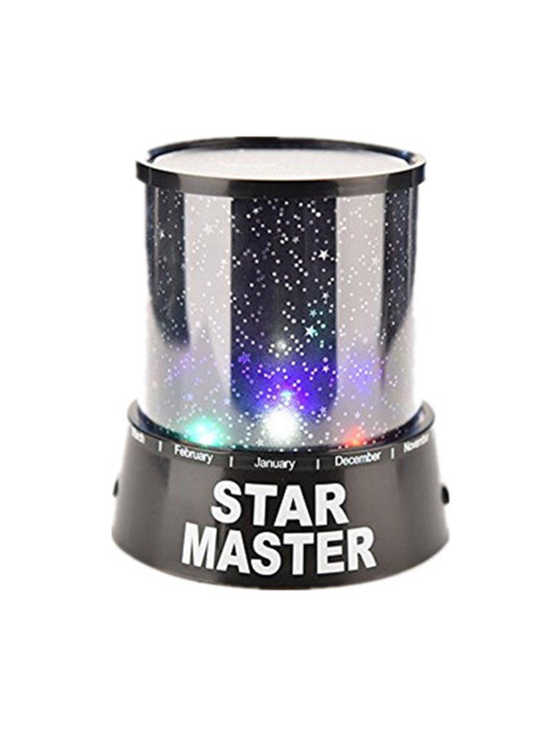 Moda Colorido dormitorio estrella del cosmos del proyector del amo de la