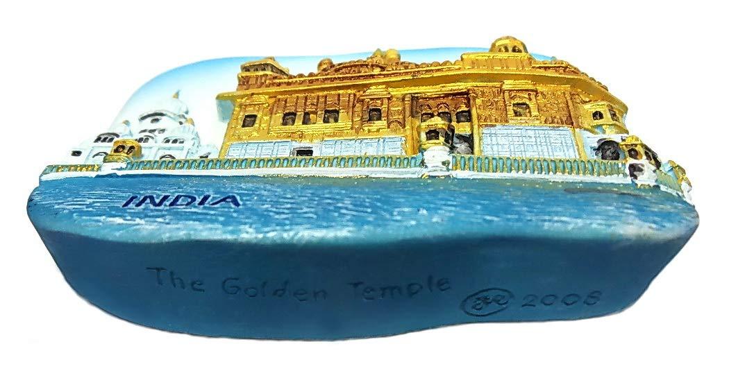 The Golden Temple Amritsar India SOUVENIR 3D FRIDGE MAGNET SOUVENIR TOURIST 050