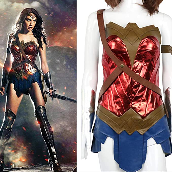nihiug El Traje de Halloween COS Wonder Woman con el Traje de ...