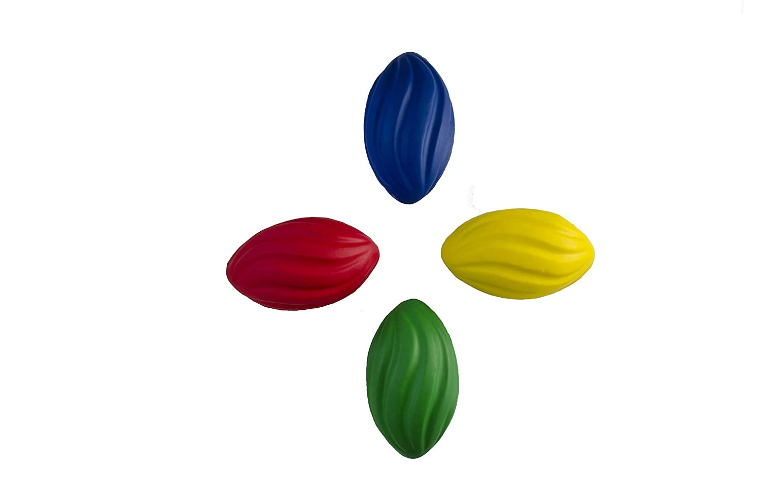 Blue Green. Red Yellow Foam Football is a Great Pool Football LMC Products 7 Spiral Mini Football Kids Football Comes in 4 Colors
