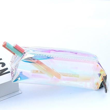 Nuevo estuche de lápices de flores florales Estuche de maquillaje cosmético Bolsa de almacenamiento, multicolor