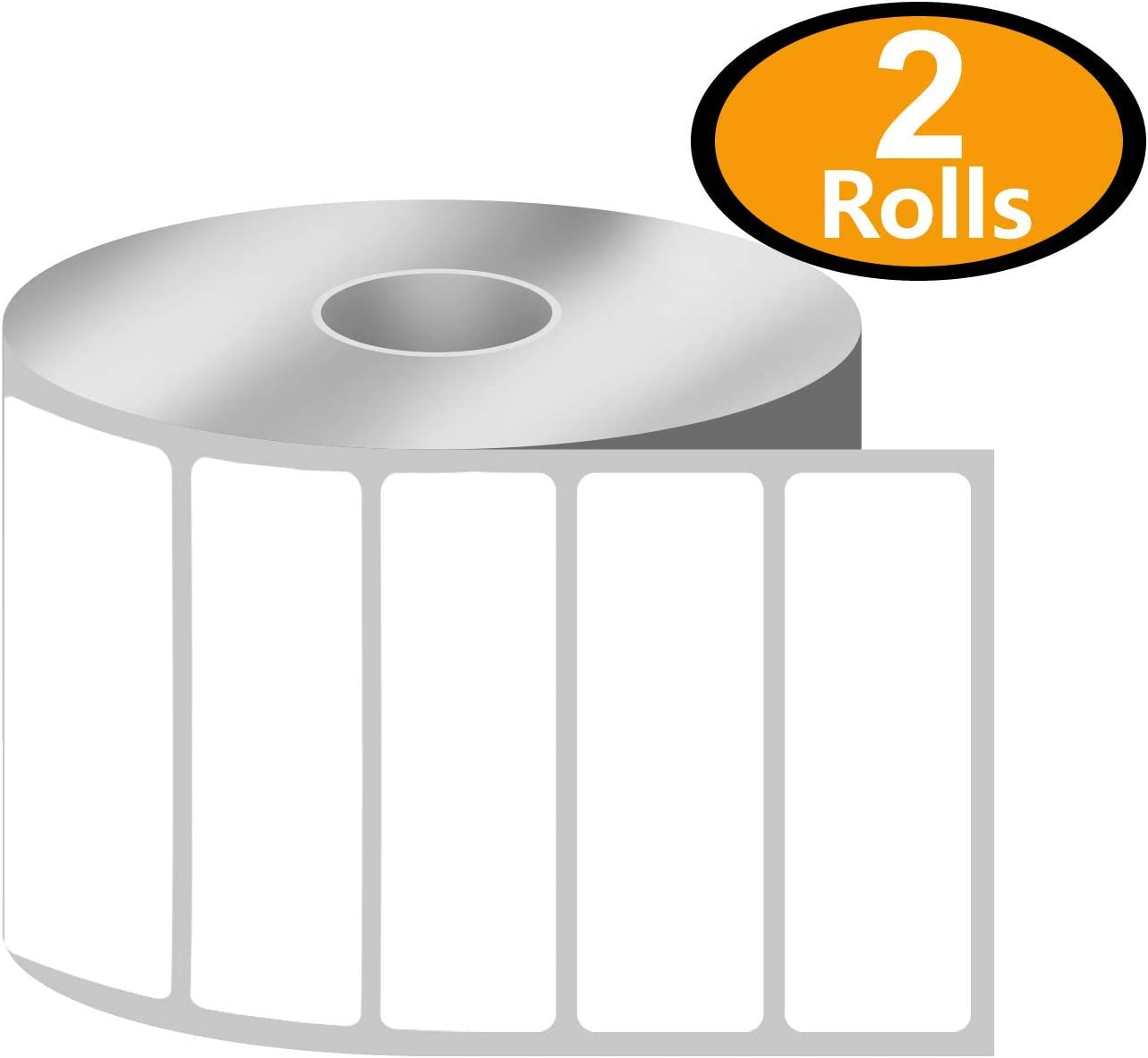 4 x 1 Direct Thermal Zebra//Eltron Compatible Labels 1 Rolls, 1375//Roll Premium Resolution /& Adhesive