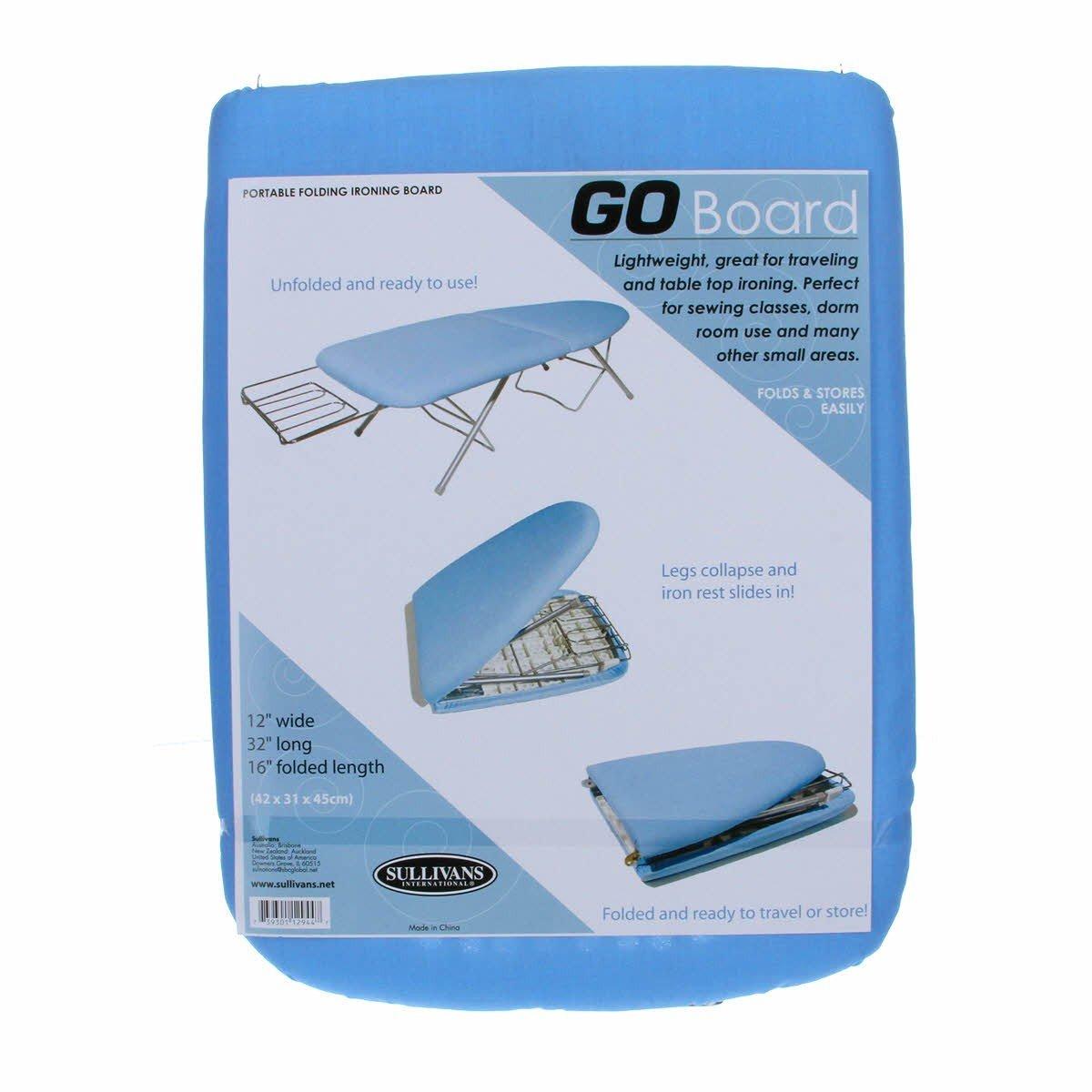 Sullivans Go Board Portable Ironing Board