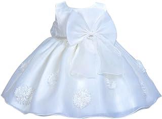 HAPPY CHERRY -  Abito da battesimo  - linea ad a - Bebè femminuccia