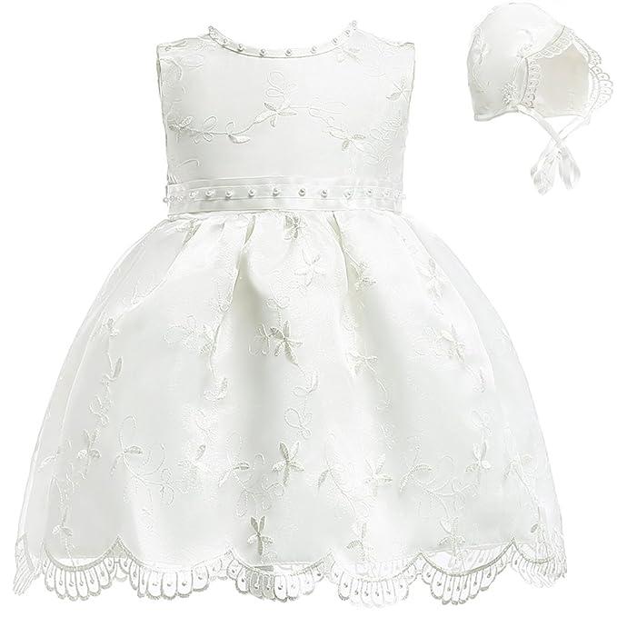 Fancy Luu Vestidos de Bautizo Vestidos de Bautismo de Cristo para Niñas Bañador de Bautizo a