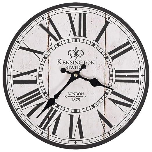 vidaXL - Reloj de Pared para Cocina, diseño Vintage de ...