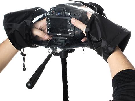 GES cubierta para la lluvia cámara pantalla impermeable nailon ...