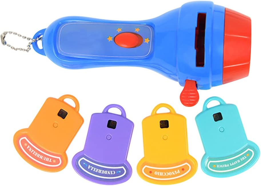 Awhao Niños Proyector Luminoso Juguete Bebé Linterna Juguete Mini ...