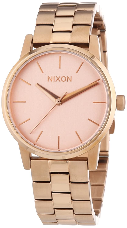 Nixon Small Kensington All Rose Gold A361897-00 - Reloj analógico de cuarzo para mujer