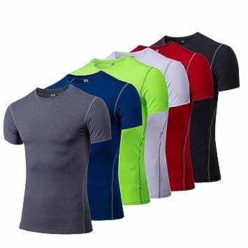 Uglyfrog Hombre Running Ropa de Compresión Ciclismo Maillots Camiseta De Compresión 1003: Amazon.es: Deportes y aire libre