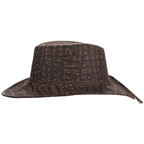 Cañonero Africano Buffalo Piel Estampada Sombrero FLY Banda  Amazon.es  Ropa  y accesorios aa57d6aa95e2