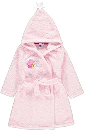 PEPPA PIG HOODED DRESSING GOWN 3-4YRS - New: Amazon.co.uk: Clothing