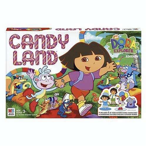 Explorer The Board Game Dora (Hasbro Candy Land - Dora The Explorer)