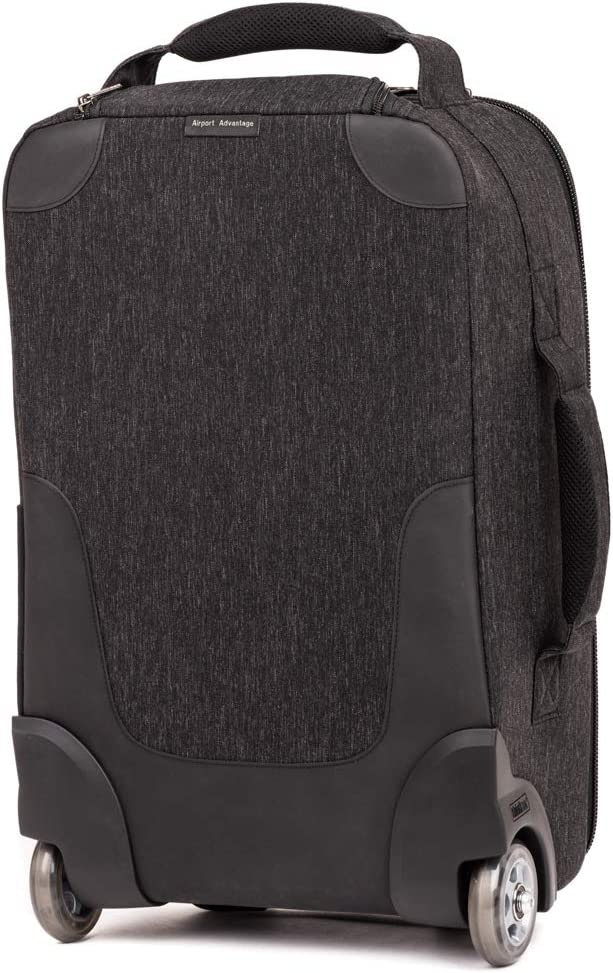 Airport Advantage Rolling Carry-On Camera Bag Black