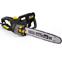 Teccpo Electric Chainsaw,15a Corded Professional Chainsaw Deals