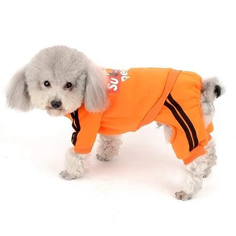 SELMAI - Sudadera de Forro Polar para Perro, Pijamas para ...