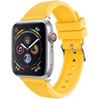 Correa de Reloj Becoler Sports Soft Silicone Replacement Band Compatible con Apple Watch Series 4 40 mm 44 mm