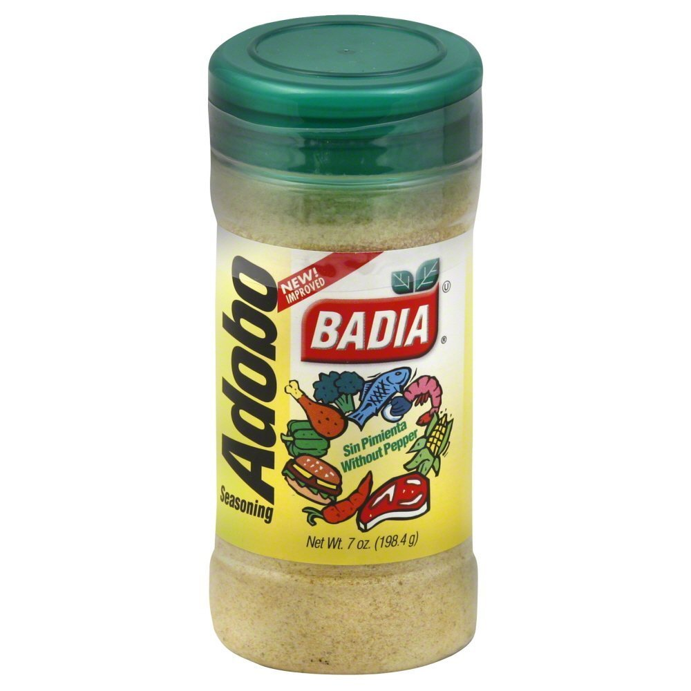 Badia Adobo Without Pepper, 7 Ounce (Pack of 6)