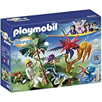 PLAYMOBIL Super 4 Lost Island with Alien and Raptor...