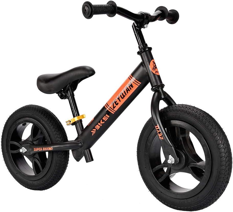GASLIKE Balance de Bicicletas, sin Pedal Caminar Balance de la Bici con el Manillar y el Asiento Ajustable de 12