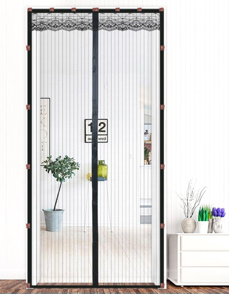 Liveinu Cortina Mosquitera Magnética Para Puerta Ventana Con Clip Adhesivo,Mosquitera Para Puerta Protección Contra Insectos Magnético Mosquitera Puerta Negro 70x210cm: Amazon.es: Bricolaje y herramientas