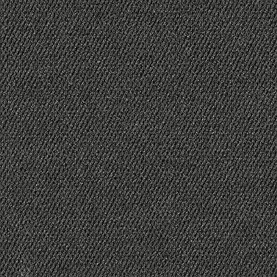 """Hobnail 18"""" x 18"""" Carpet Tile in Black"""