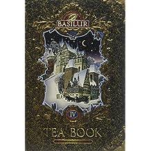 Basilur   Gift Tea Set   Tea Book -Vol 4   Collectable Metal Tin Caddy   Pure Ceylon Black Tea with Silver tips   Non GMO Loose Leaf Tea   100g /3.52 oz.