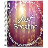 Tools4Wisdom 2019 Planner November 2018-2019 - 8.5 x 11 Hardcover - 5 Planners in 1 : Daily Weekly Monthly Yearly Calendar (Large Dated Pages, 15 Tabs, 200 Planner Stickers, Oct 2018-Dec 2019)