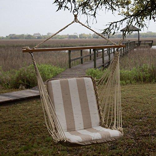 Pawleys Island Hammock Swing (Pawleys Island Cushion Single Hammock Swing - Decade Sand)